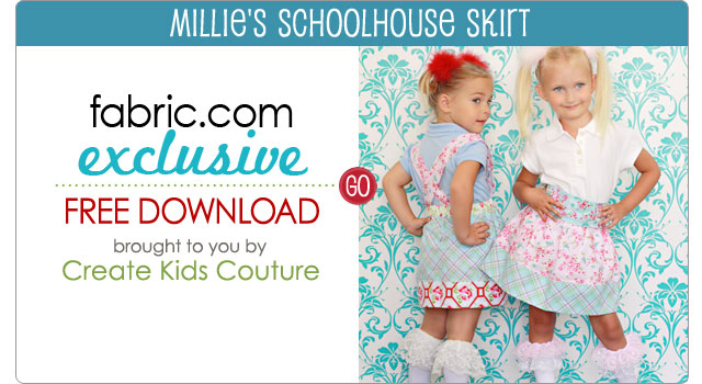 Create Kids New Millie's Schoolhouse Skirt Free Download